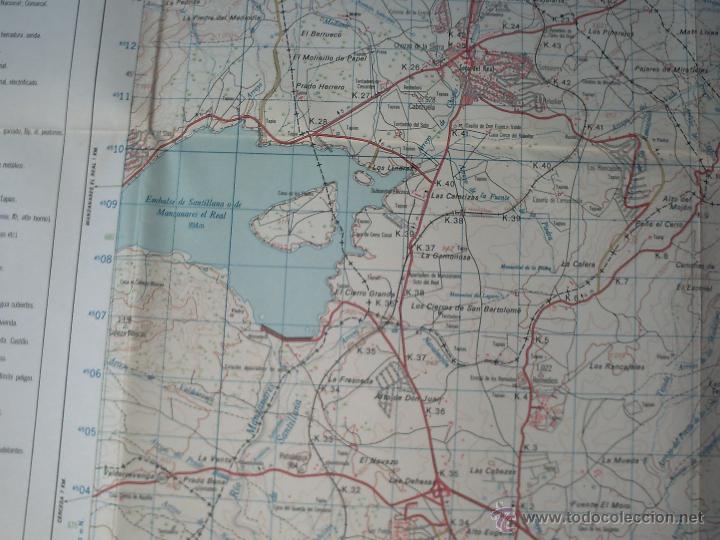 Mapas contemporáneos: TORRELAGUNA SERVICIO GEOGRÁFICO DEL EJÉRCITO E.1: 50.000 3ª EDICIÓN 1982 - Foto 3 - 42133415