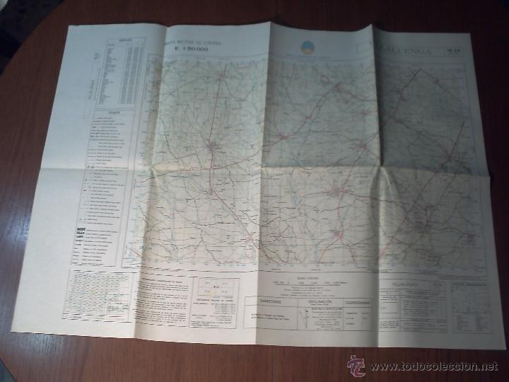 Mapas contemporáneos: VILLALUENGA SERVICIO GEOGRÁFICO DEL EJÉRCITO 1ª EDICIÓN AÑO 1979 - Foto 2 - 42134166