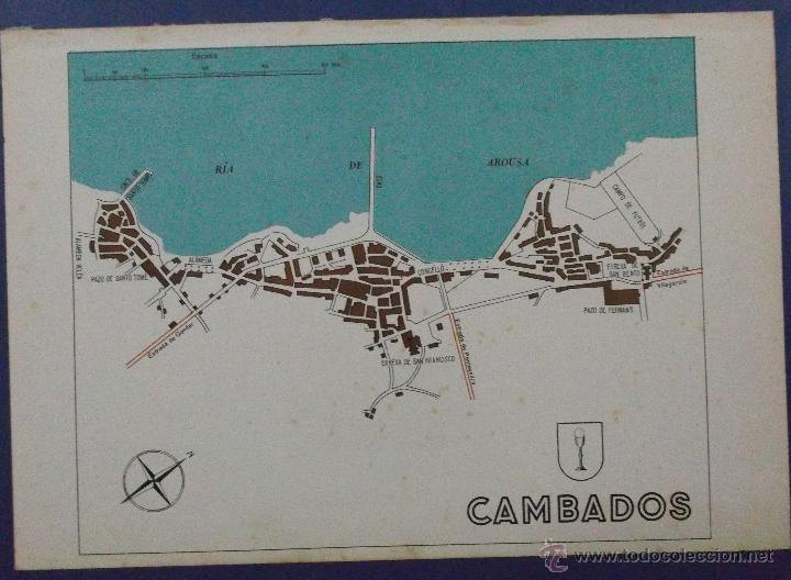 Plano De Cambados 20 X 28 Cm Buy Contemporary Maps At