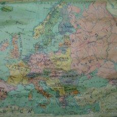 Mapas contemporáneos: MAPA ESCOLAR POLITICO DE EUROPA DE SEIX Y BARRAL 77X 1,20 AÑOS 60. Lote 42977978