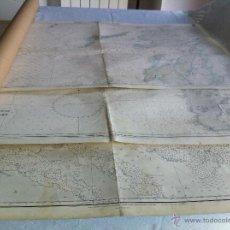 Mapas contemporáneos: ---3 MAPAS---SCOTLAND, VANCOUVER, CUBA.---TUBO PORTA-PLANOS INCLUIDO. GRAN FORMATO.. Lote 43184774