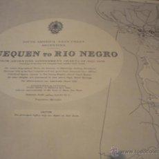 Mapas contemporáneos: SOUTH AMERICA - EAST COAST ARGENTINA. QUEQUEN TO RIO NEGRO - ADMIRALTY. Lote 43330270