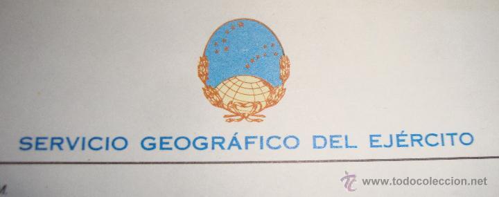 Mapas contemporáneos: MAPA CARTOGRAFIA MILITAR SERVICIO GEOGRAFICO DEL EJERCITO HOSPITALET - Foto 3 - 43373622