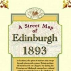Mapas contemporáneos: MAPA REPRODUCCION MAP OF EDINBURGH 1893. Lote 43611937