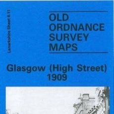 Mapas contemporáneos: MAPA REPRODUCCION MAP GLASGOW HIGH STREET 1909 --REFM4E3. Lote 43611957