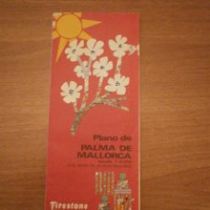 Mapas contemporáneos: PLANO DE PALMA DE MALLORCA - ESCALA 1. 6000-CON MAPAS DE LAS ISLAS BALEARES. Lote 178685791