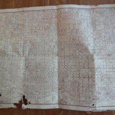 Mapas contemporáneos: PLANO DE BARCELONA CARTELERA DE ESPECTACULOS Y GUIA COMERCIAL 29 AGOSTO A 4 SEPTIEMBRE 1949. Lote 43886089