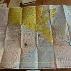 Mapas contemporáneos: F2095 ANTIGUO PLANO DE GRANADA - LIBRERIA PADRE SUAREZ. Lote 44033456