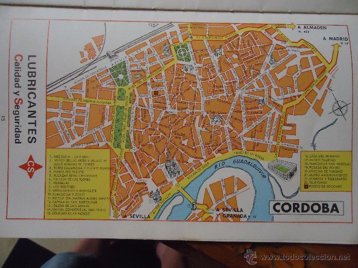 Mapa Callejero De Cordoba.30x18 Cm Antiguo Mapa Callejero De Los Anos 60 Comprar Mapas Contemporaneos En Todocoleccion 44206900