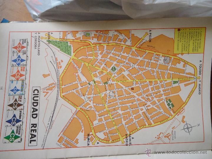 30x18 Cm Antiguo Mapa Callejero De Los Anos 60 Buy Contemporary