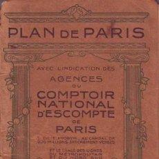 Mapas contemporáneos: PLAN DE PARIS. . Lote 44713431
