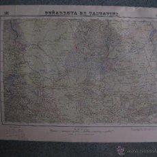 Mapas contemporáneos: MAPA PEÑARROYA DE TASTAVINS, TERUEL. AÑOS 60. GRAFICOS VIÑAS, OLIVAR, HUERTA, LIMITE PROVINCIA... Lote 44801808