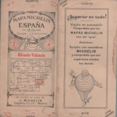Mapas contemporáneos - CX- Mapa MICHELIN España de carreteras nº 11 - ALICANTE - VALENCIA - Impreso por Buttner - Thierry - 45209421
