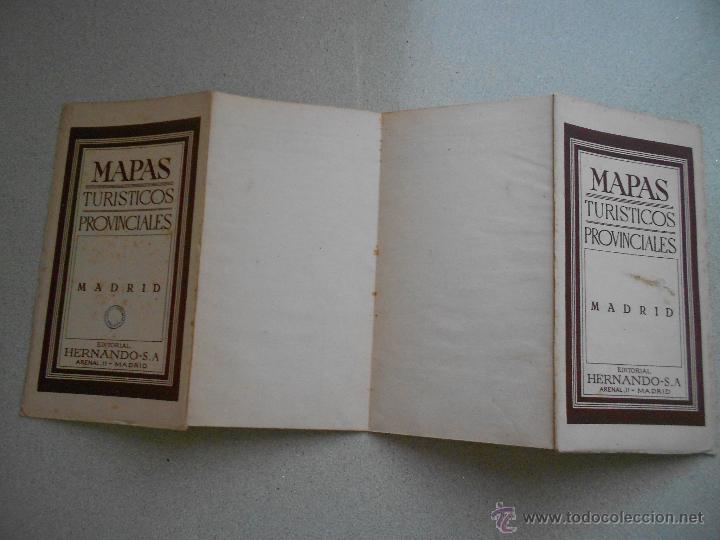 Mapas contemporáneos: MAPA DE MADRID, EDITORIAL HERNANDO SA, TURISTICOS PROVINCIALES - Foto 3 - 45589844