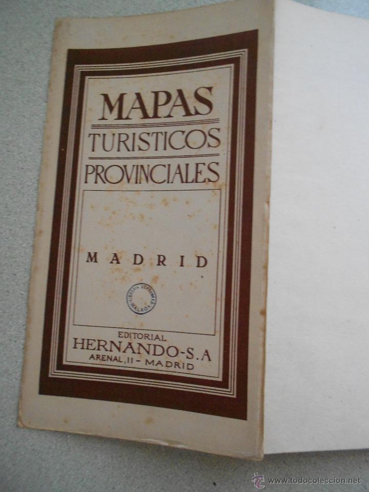 Mapas contemporáneos: MAPA DE MADRID, EDITORIAL HERNANDO SA, TURISTICOS PROVINCIALES - Foto 4 - 45589844