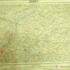 Mapas contemporáneos: MAPA TOPOGRÁFICO ALCOY Y ALREDEDORES, SERVICIO GEOGRÁFICO DEL EJERCITO. 1955. 1ªEDICIÓN. 70X50. Lote 45918205
