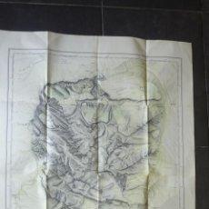 Mapas contemporáneos - Mapa Plano Picos de Europa . 1935 . Boada y guereta . construido por Boada . 1,10 cm/ 80 Único - 46002057