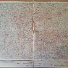 Mapas contemporáneos: MAPA ENTELADO PROVINCIA GUADALAJARA INSTITUTO GEOGRÁFICO Y ESTADÍSTICO 1920. Lote 46055739