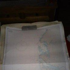 Mapas contemporáneos: CARTA NAÚTICA DE CABO SAN JUAN A CABO LÓPEZ.. Lote 46162261