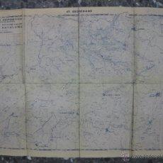 Mapas contemporáneos: EL MONTSANT. CROQUIS DE LA XXVII MARCHA EXCURSIONISTA DE REGULARIDAD DE CATALUÑA. REUS DEPORTIVO. Lote 46175127