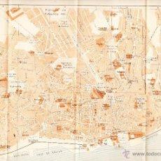 Mapas contemporáneos: MAPA DE LA CIUDAD DE LISBOA CON SELLO BIBLIOTECA ESCUELA SUPERIOR DE GUERRA AÑO 1924 .. Lote 46286433