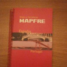Mapas contemporáneos: MAPA DE CARRETERAS - MAPFRE --ESPAÑA Y PORTUAL--- MAPFRE AUTOMOVILES . Lote 46286828
