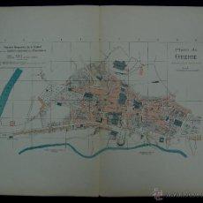 Mapas contemporáneos: PLANO DE ORENSE. ALBERTO MARTÍN EDITOR-BARCELONA. 1915. Lote 46384346