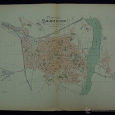 Mapas contemporáneos: PLANO DE SALAMANCA. ALBERTO MARTÍN EDITOR-BARCELONA. 1915. Lote 46384432