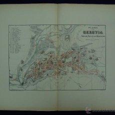 Mapas contemporáneos: PLANO DE SEGOVIA. ALBERTO MARTÍN EDITOR-BARCELONA. 1915. Lote 46384498