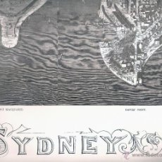 Mapas contemporáneos: MAPA DE SYDNEY . Lote 46668373