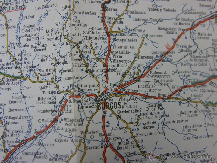 Mapa De Provincia De Burgos Cultura Excma Diputacion
