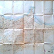 Mapas contemporáneos: 1925 GUERRA DE AFRICA MAPA MILITAR DE MARRUECOS ZONA ORIENTAL CARTA PROVISIONAL 110 X 80 CM.. Lote 47030066