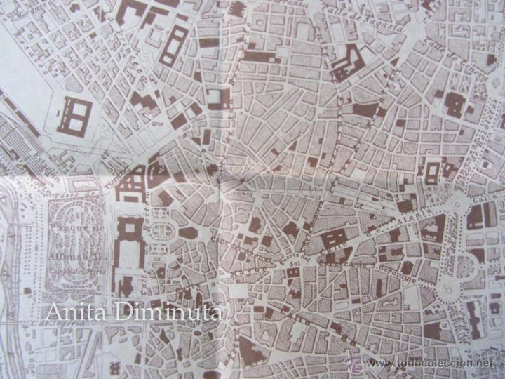 Mapas contemporáneos: ANTIGUO PLANO DE MADRID - AÑO 1936 - ORIGINAL - 40 X 32 CM - - Foto 2 - 47065208