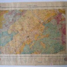 Mapas contemporáneos: MAPA Y LIBRO VILAFRANCA PENEDES 1922 SERVEI DEL MAPA GEOLOGIC DE CATALUNYA FULLA NUM. 34. Lote 115091718