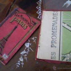 Mapas contemporáneos: 1931 ,, PLAN MONUMENTAL ,, PARIS ,,,VERSAILLES ,,EN FRANCES. Lote 47459292