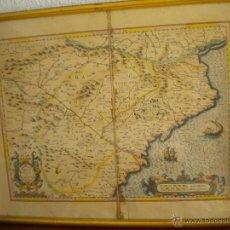 Mapas contemporáneos: FANTASTICA COPIA DEL MAPA DE LOS PAISES CATALANES 1512-1594 REALIZADO EN EL 1977.. Lote 47619032