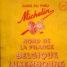 mapa pneu michelin nord de france belgique lu comprar mapas contempor neos en todocoleccion. Black Bedroom Furniture Sets. Home Design Ideas