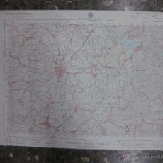 Mapas contemporáneos: MAPA VIC. CARTOGRAFIA MILITAR. SERIE L. ESCALA 1: 50000.- SERVICIO GEOGRAFICO EJERCITO 1981. Lote 48434227