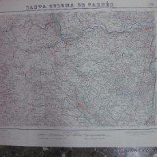 Mapas contemporáneos: MAPA SANTA COLOMA DE FARNES.- LAMINA 333. ESCALA 1: 50000.- INSTITUTO GEOGRAFICO Y CATASTRAL 1951. Lote 48434853