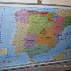 Mapas contemporáneos: MAPA O PLANISFERIO POLÍTICO DE DOS CARAS, DE MC. Lote 48689152