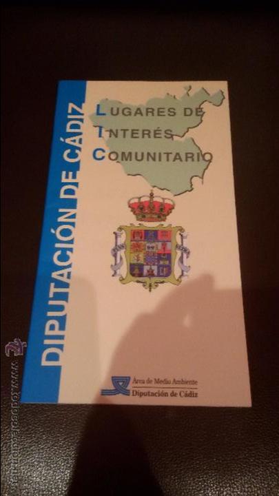 Mapas contemporáneos: INTERESANTE LUGARES DE INTERES COMUNITARIO DIPUTACION DE CADIZ - GRAN MAPA DE CADIZ - - Foto 2 - 49181712
