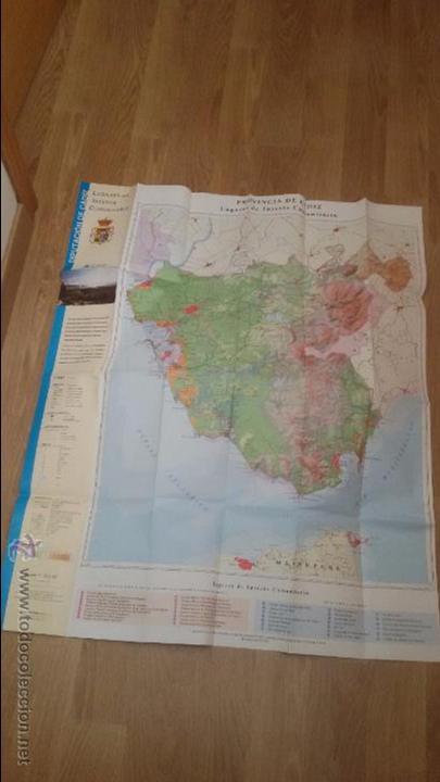 Mapas contemporáneos: INTERESANTE LUGARES DE INTERES COMUNITARIO DIPUTACION DE CADIZ - GRAN MAPA DE CADIZ - - Foto 6 - 49181712