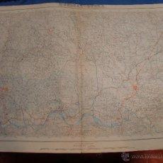Mapas contemporáneos: MAPA HUERCAL OVERA ALMERIA 64X44 CMS APROX AÑO 1952. Lote 49599434