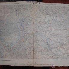Mapas contemporáneos: ALMERIA MAPA DE TABERNAS AÑO 1952 64X44 CMS.. Lote 49599469