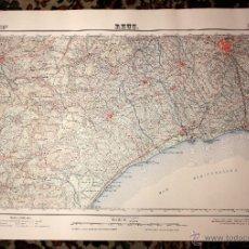 Mapas contemporáneos: MAPA DE REUS (TARRAGONA) DEL AÑO 1951. Lote 219156535