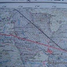 Mapas contemporáneos: MAPA DE LOS AÑOS 40 - 50 INSTITUTO GEOGRÁFICO Y CATASTRAL, MAPA DE JALANCE - VALENCIA. Lote 49762253