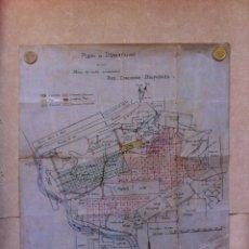Mapas contemporáneos: MAPA ORIGINAL DE MINAS ASTURIANAS . CUENCA MINERA.. Lote 50104233