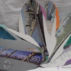 Mapas contemporáneos: MAPA PLANO GUIA DE LONDRES EN 360 GRADOS - LONDON EYE. Lote 50485244