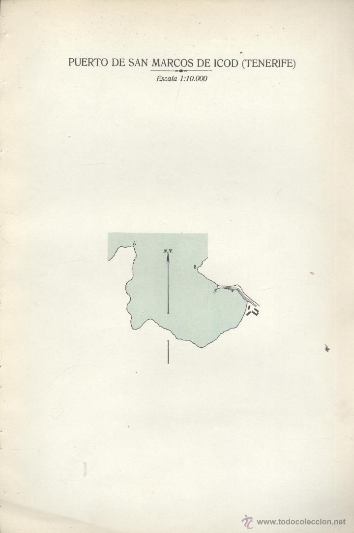 plano del puerto de san marcos de icod (tenerif - Comprar Mapas ...