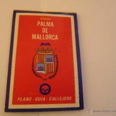 Mapas contemporáneos: PRECIOSO MAPA ALMAX PALMA DE MALLORCA, 1975. Lote 50689825